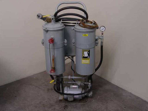 Serfilco SL(718)x 1F8KG  Filtration Reconditioning System w/Coalescing Cham