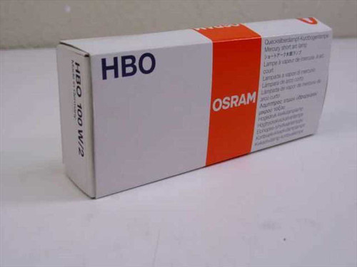 OSRAM HBO 100W/2  100W 20V DC Mercury Lamp