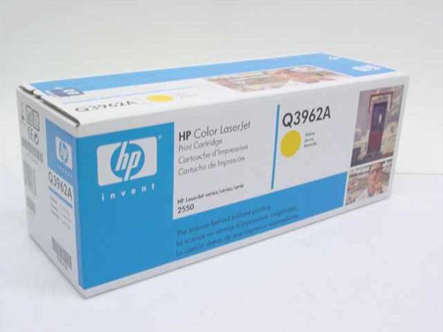 HP Q3962A  LJ 2550 Yellow Toner Cartridge