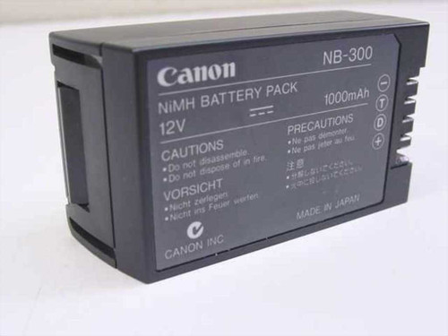 Canon NB-300  NiMH Battery Pack 12VDC 1000mA