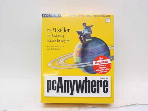 Symantec 07-00-02764  pcAnywhere Version 9.2