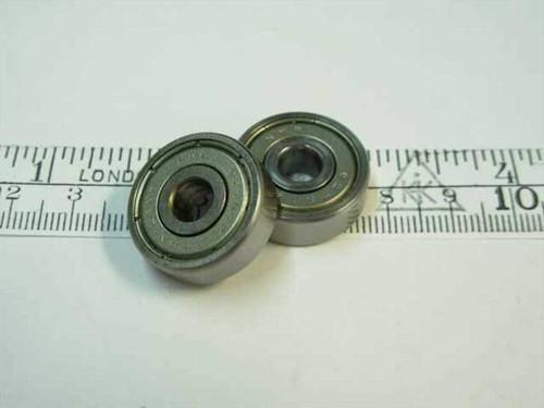 Steel 627-2Z  Ball bearing - 6.35 x 22 x 7 mm