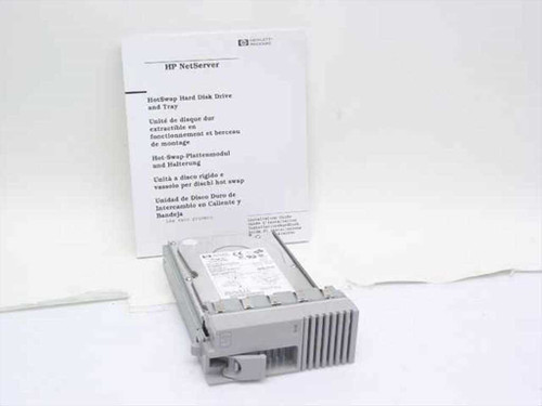 HP D6019-63001  HotSwap Hard Disk Drive and Tray ST39103LC