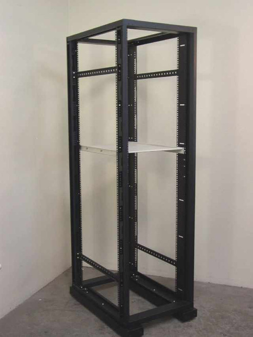 "American Power Conv AR1000AX192  19"" Rackmount Cabinet Black w/1 adjustable shelf"