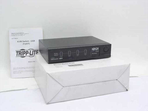 Tripp Lite CS-104U  KVM Switch - USB - 4 Port - Main Unit Only