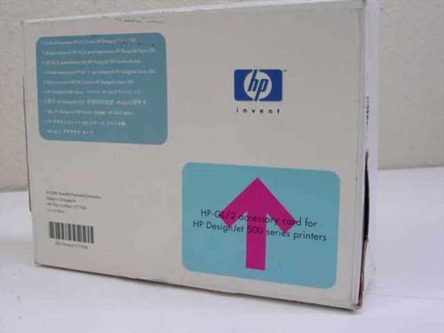 Hewlett Packard C7772A  GL/2 Accessory Card for DesignJet 500 Printer