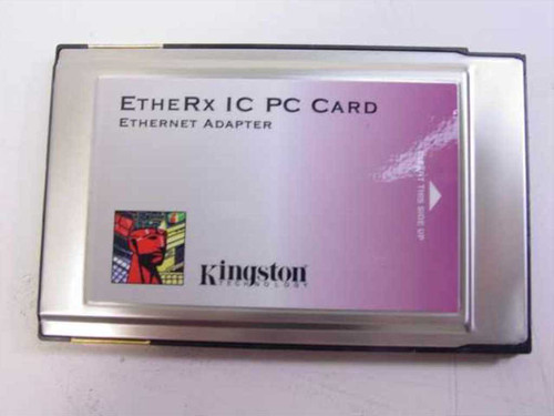Kingston KNE-PC2T  EtheRx IC Ethernet PC Card Adapter - No Dongle