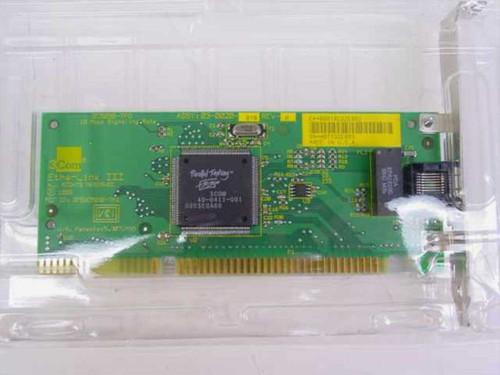3COM 3C509B  EtherLink 10 Mbps ISA Network Interface Card -5 Pk