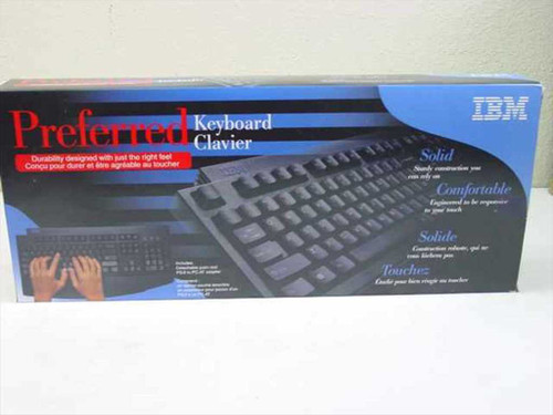 IBM 28L3621  Keyboard Black PS/2 104-Key