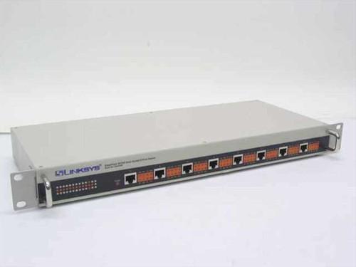 Linksys EZXS88R  EtherFast 10/100 Dual-Speed 8-Port Switch Rackmoun