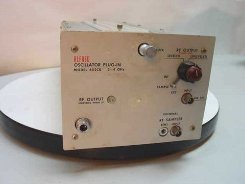 Alfred 2-4 Ghz Oscillator Plug-in - Vintage Collectable 652CK