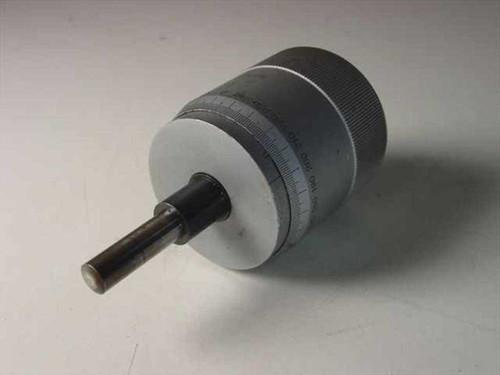 "NL 152-372A Type  Micrometer Head 0-1""/0.0001"" No PN No Mfg"