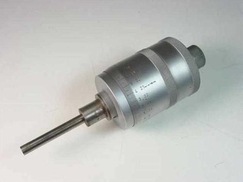 "NL 152-388 Type  Micrometer Head 2""/0.0001"" - No PN No Mfgr Markin"
