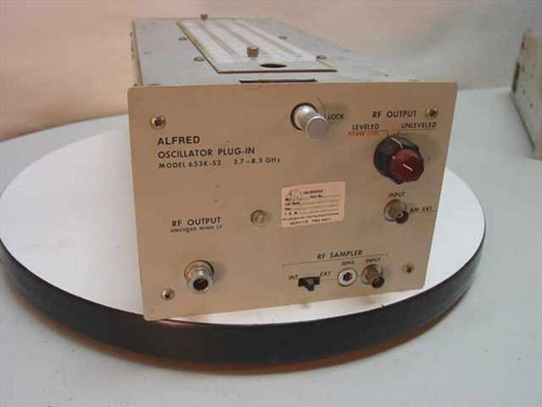 Alfred 3.7-8.3 Ghz Oscillator Plug-in - Vintage Collectible 653K-S2