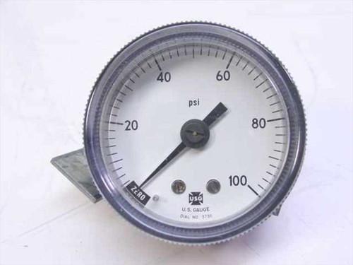 Ametek P844U  Pressure Gauge 100 PSI 1/8ANP