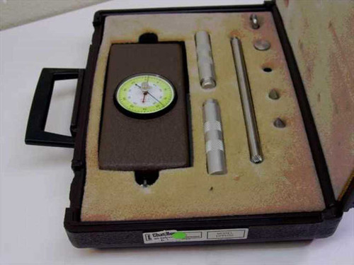 Chatillon DPPH-50  Dial Push-Pull Gauge in Case w/Accessories