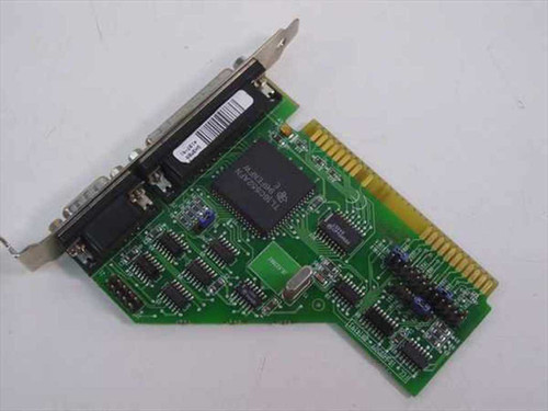 Texas Instruments ISA Serial/Parallel Card - 4197-01 (TL16C552AFN)