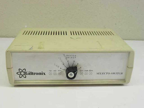 Giltronix 5240  Selecto-Switch 6-Way Data Switch