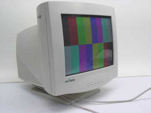 """ProView PS509  15"""" Color Monitor 572N"""