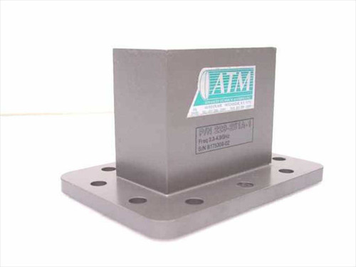 ATM 229-251-A1  SMA-F to WR229 Transition Waveguide