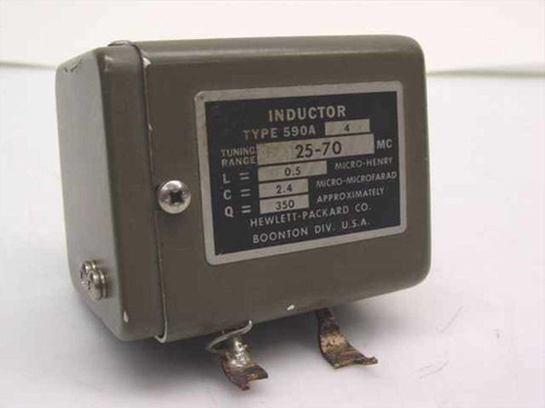 HP 590A  Inductor