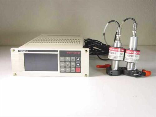 Varian L8350301  Multi-Gauge Controller Unit w/Ionization Gauges 52