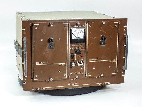 Drytek RF Power Supply Comdel PA-500A DR-100A S100 Wafer DRY-KW1