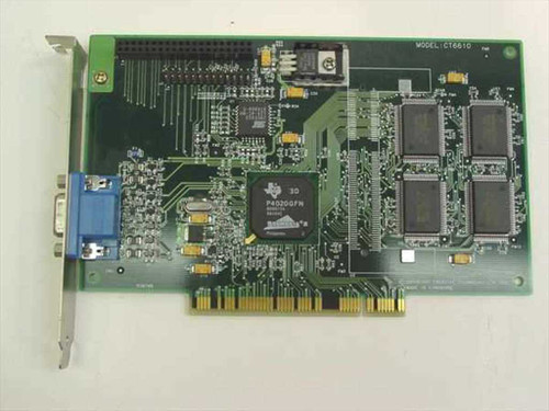 Creative Labs Permedia 2 Graphic 3D PCI Card (CT6610)