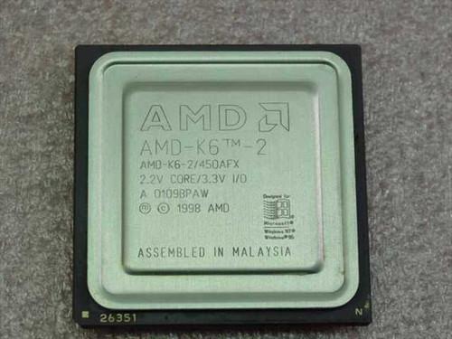 AMD K6-2/450AFX  K6-2 450MHz/100/32/2.2V