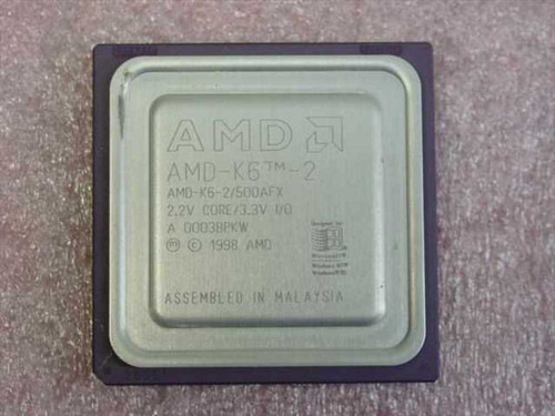 AMD K6-2 500MHz/100/32/2.2V K6-2/500AFX