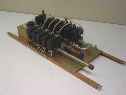 JOUCOMATIC 430 / 1890001   Solenoid valve manifold - 12 Valves w. 110Vac coil