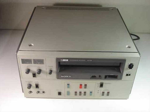 Sony VO-5600  U-Matic Videocassette Recorder (No Audio)