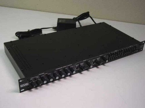 Rane CP 64  Commercial Processor Rack mount