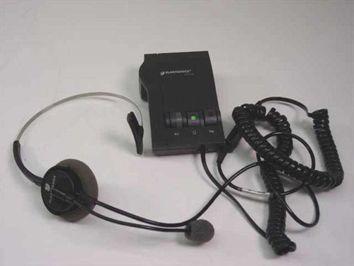 Plantronics M12  Vista Amplifier Headphone set