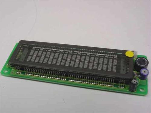 Itron CU20025ECPB-W1J  VFD Module 2X 20CH, 5MM