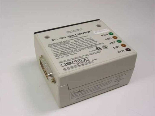 Cabletron Systems ST-500 with Lanview  Ethernet/IEEE 802.3 Transceiver Unit (MAU)