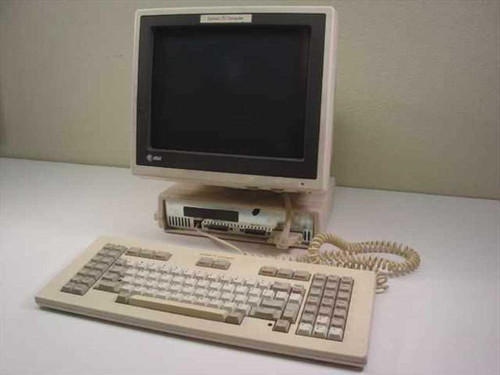 AT&T System 75  Computer Terminal with Keyboard - As Is for Parts
