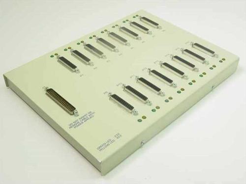 Generic 770147B-02  Panel of 16 RS232 25 pins female plugs