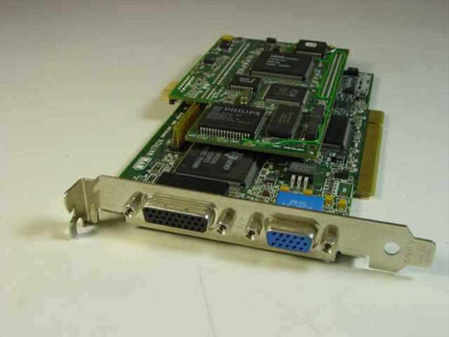 Matrox 576-05 MRVM/MPG/VID  Millenium 2M WRAM MGA/S-VGA Video Card w/581-02 Bo