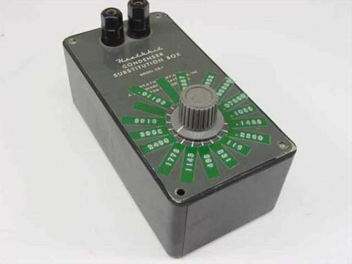 Heathkit CS-1  Condenser Substitution Box
