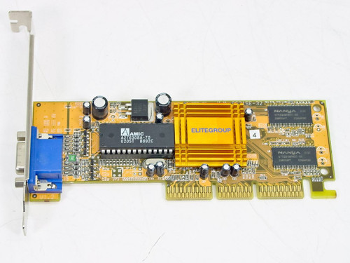 Elitegroup AG315E-32 AGP Video Card SIS315 32MB SDRAM