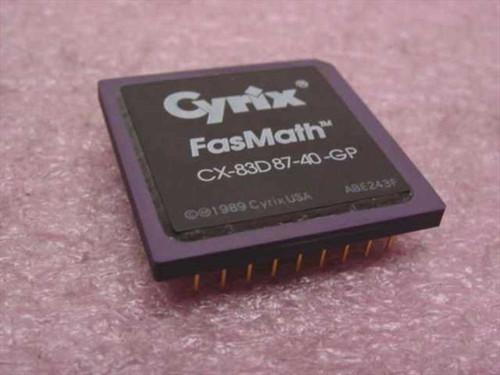 Cyrix CX-83D87-40-GP  FasMath Processor