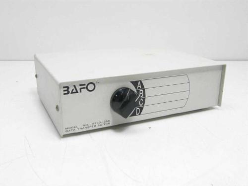 BAFO 8740-25S  25 Pin 4 way Data Transfer Switch