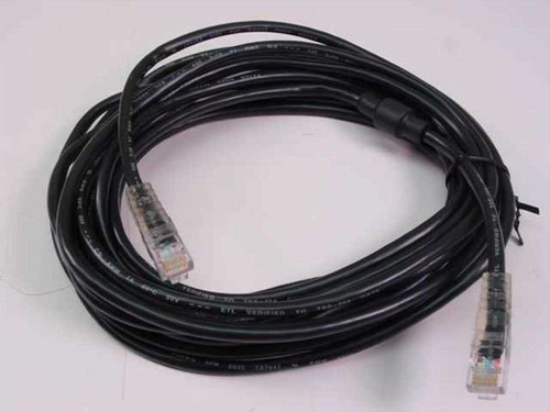 Polycom 2457-06224-001  20Ft Black PC LAN Cable RJ45 to RJ45 Ethernet Cabl