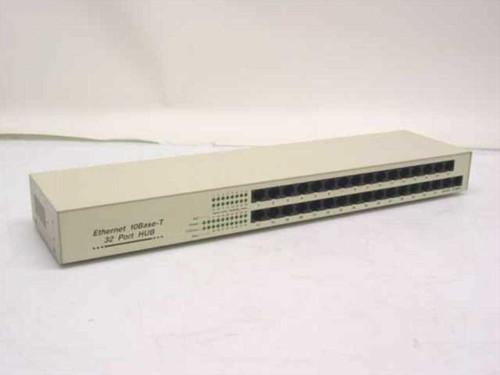 Generic 32 Port Hub  Ethernet 10 Base-T EN-3200