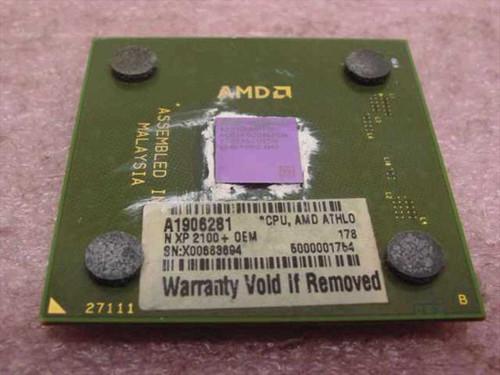 AMD AX2100DMT3C   Athlon XP 2100& 1.7Ghz/266/215/1.75V