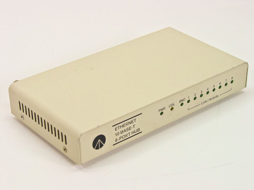 Generic 8-Port Hub  Ethernet 10 Base-T EN-800A with COAX