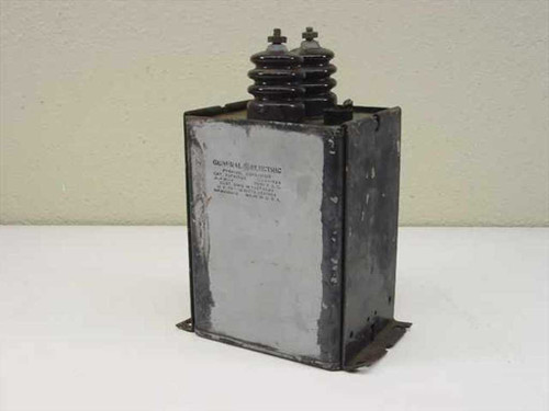 General Electric 26F415G2  High Voltage Pyranol Capacitor 0.4