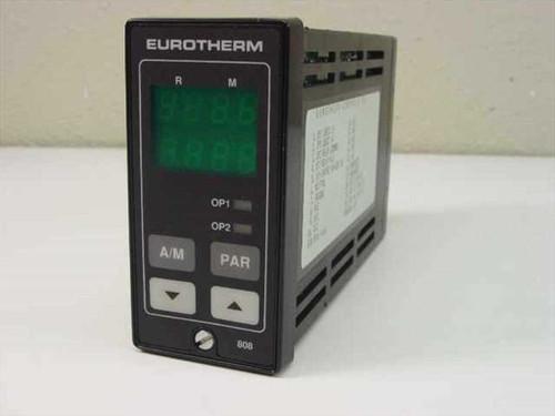 Eurotherm 808  Eurotherm Controller - 808/L1/R1/0/0/0/QPS (AJHC260)