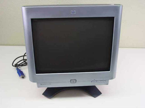 "HP mx704  17"" Flat Screen CRT Monitor PE1164 - Black"